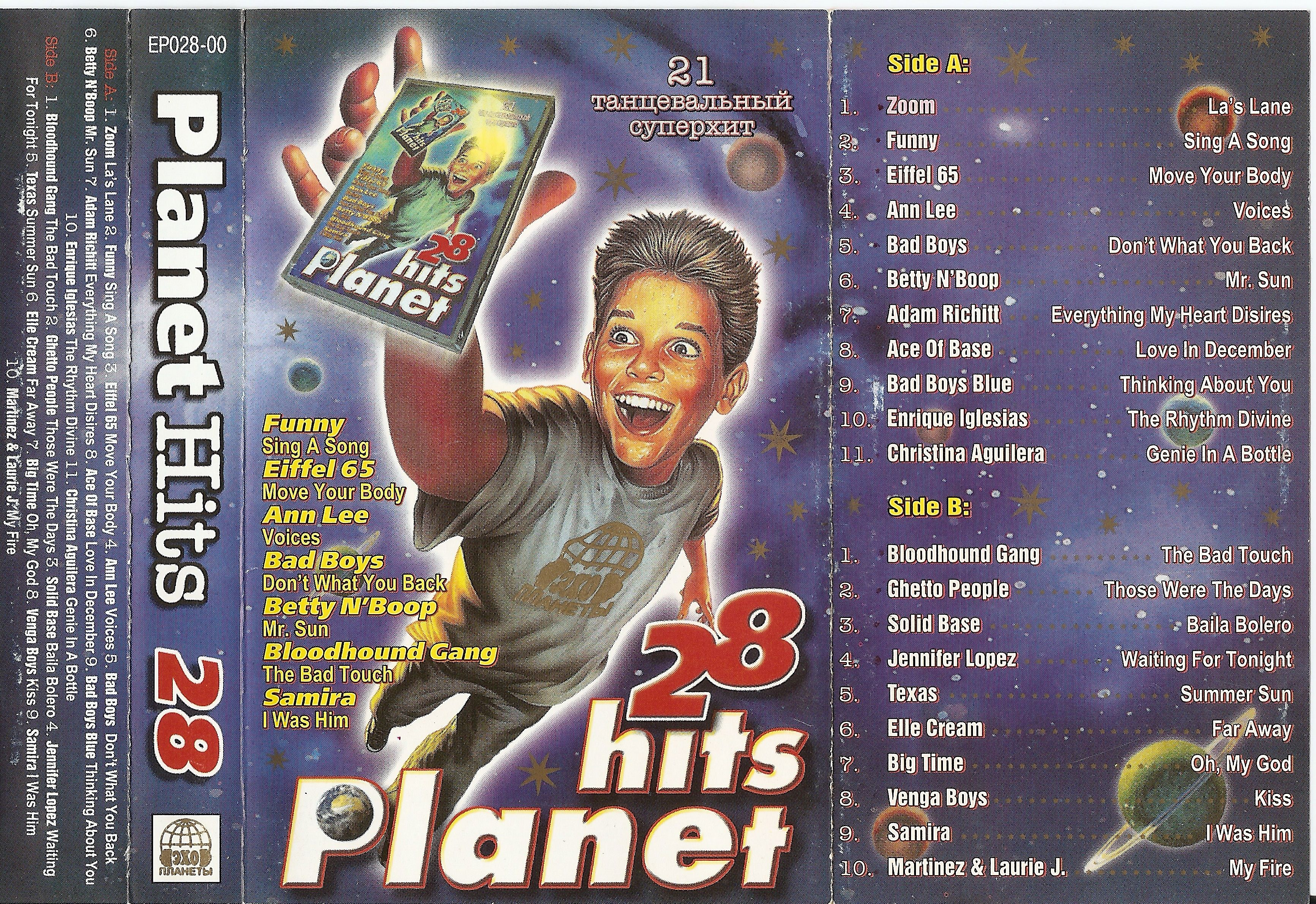 Directory Listing of Files/mp3/Albums/Planet Hits/Planet
